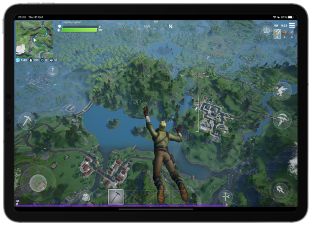 Fortnite  en iPad Pro