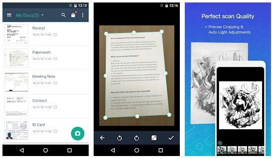 Las mejores aplicaciones de escáner de fotos para Android / iPhone