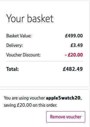 Dinero Apple Watch