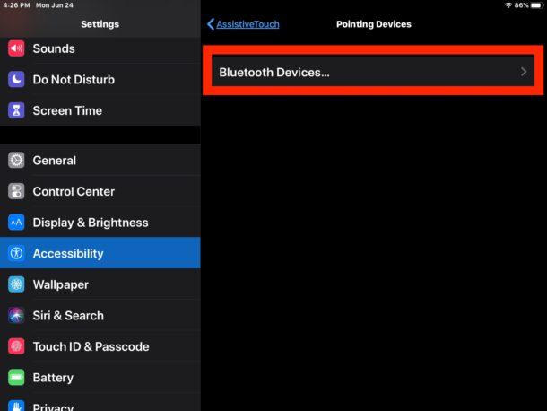 Cómo conectar un mouse bluetooth en iPad