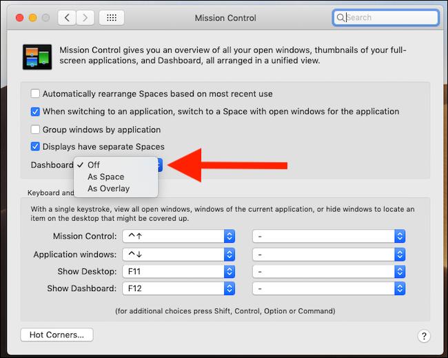 Kuinka paneeli otetaan käyttöön macOS Mojavessa 5