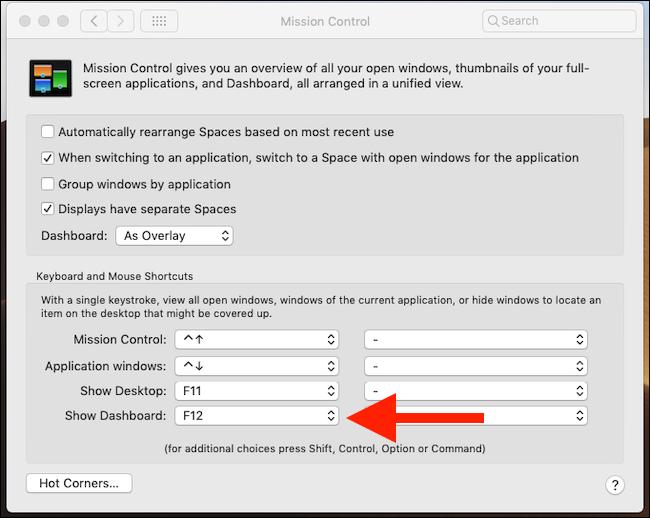 Kuinka paneeli otetaan käyttöön macOS Mojavessa 6