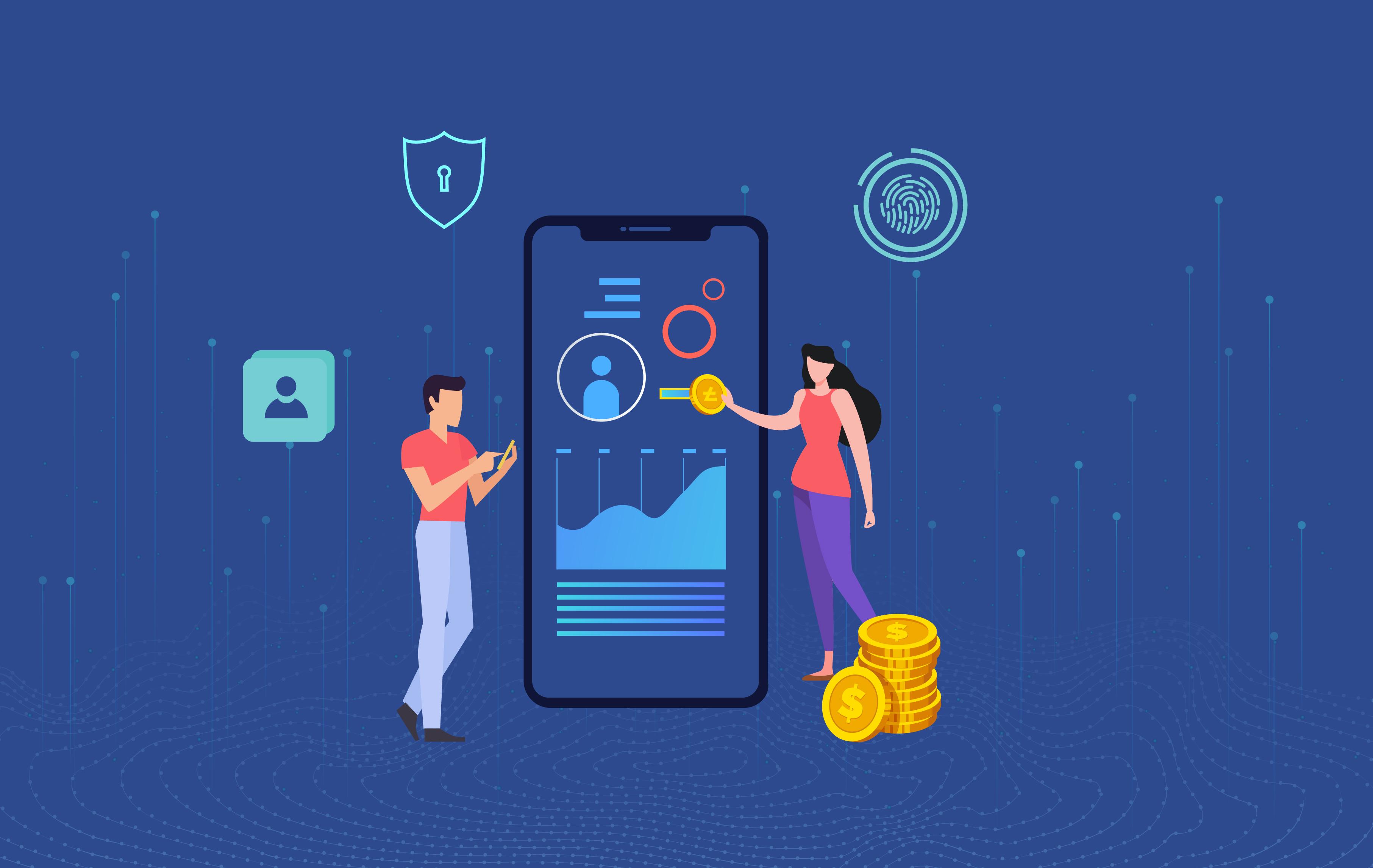 La tecnologia blockchain ha un impatto su Fintech.