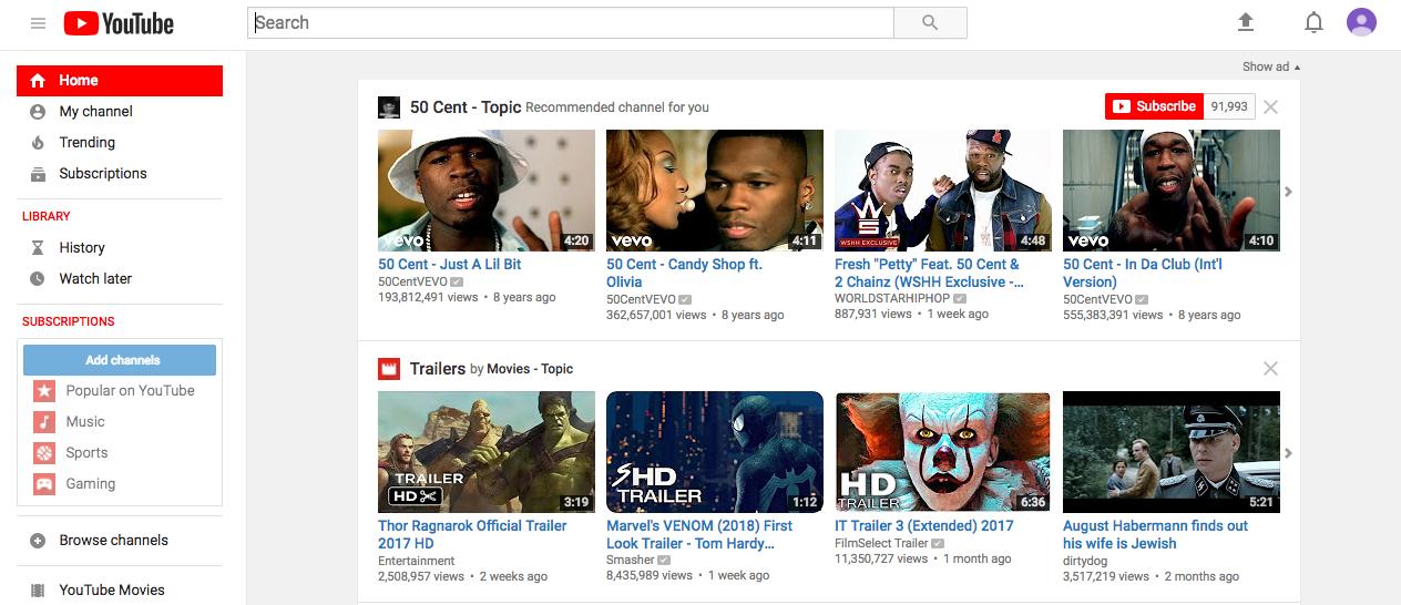 tải xuống youtube hợp pháp