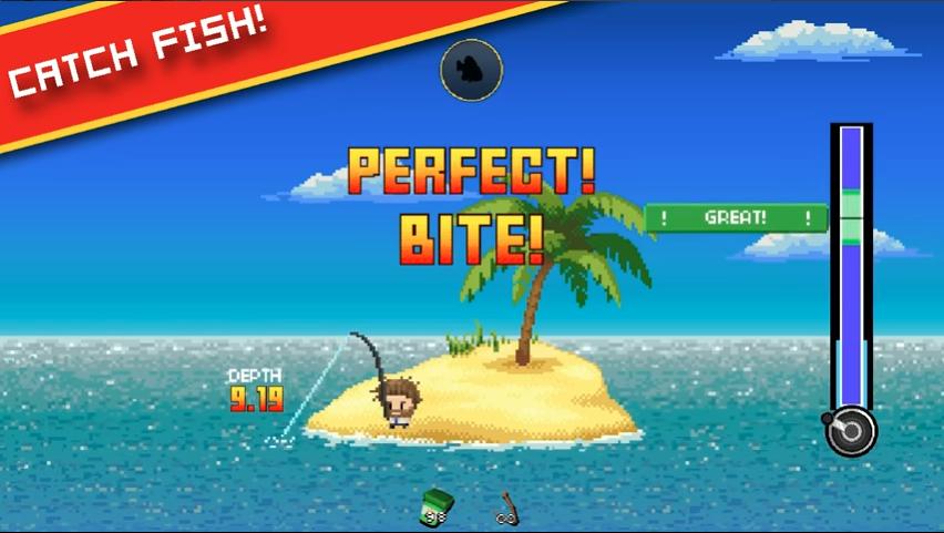 Desert Island Fishing - Los mejores juegos de pesca