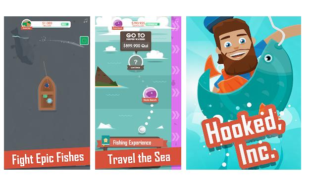 Hooked Inc - Mejor juego de pesca