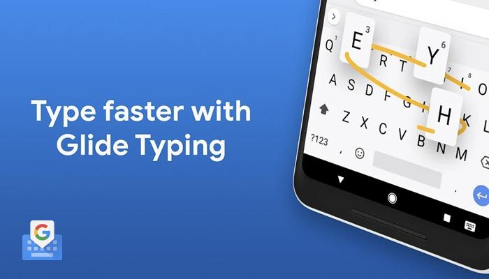 aplicación de teclado de texto