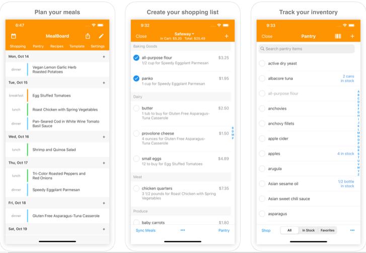 MealBoard - Aplicación de planificación familiar de comidas