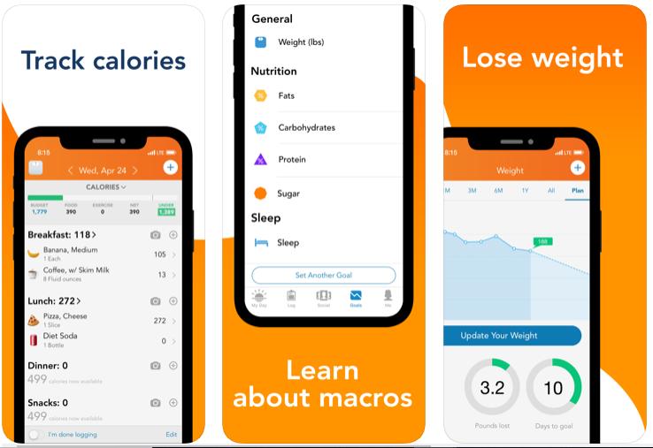 ¡Piérdelo! - Aplicación de planificación de comidas para bajar de peso
