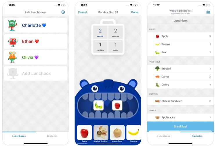 Lala Lunchbox Pasto Piano App