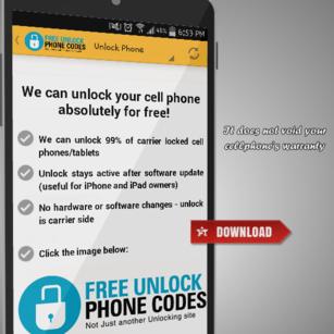 Desbloquear teléfono Códigos de desbloqueo gratis