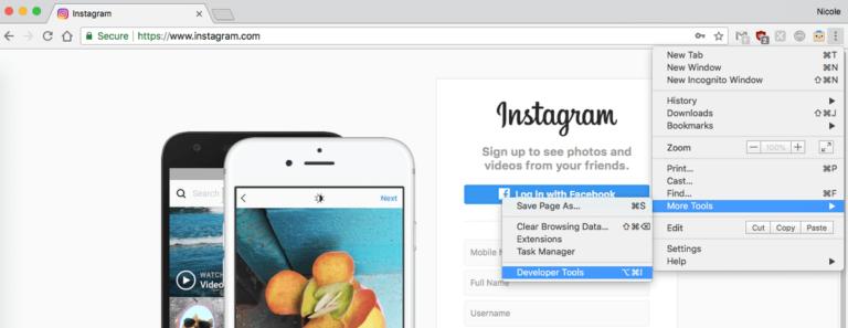 Publicar en Instagram Desde tu PC o Mac