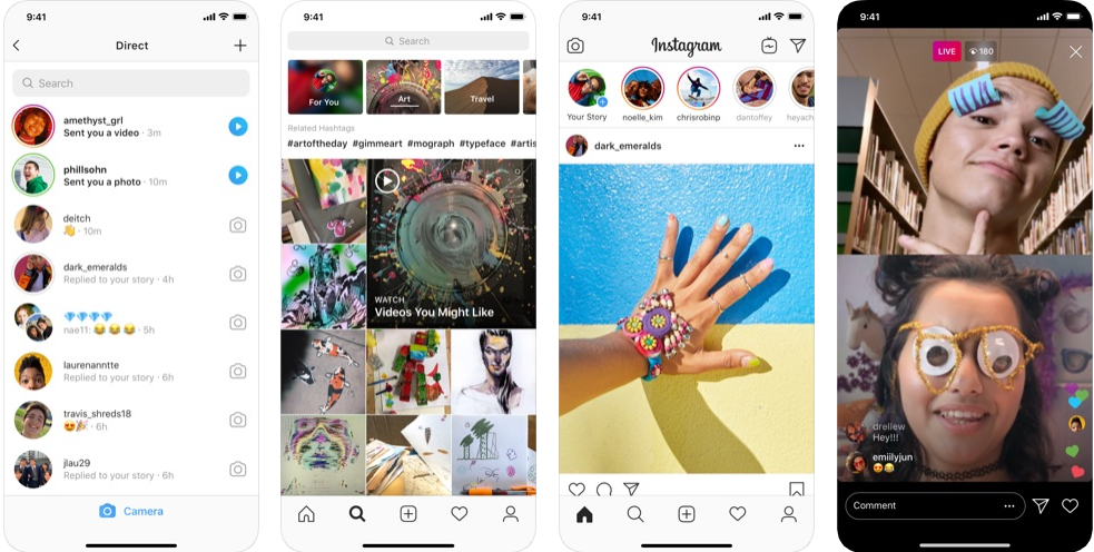 Instagram  - Aplicación Blur Photo Background