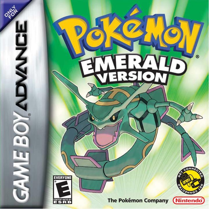 Pokemon  Emerald - GBA Juego de rol