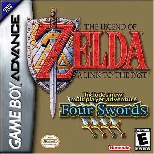 La leyenda de Zelda: un enlace al pasado y cuatro espadas