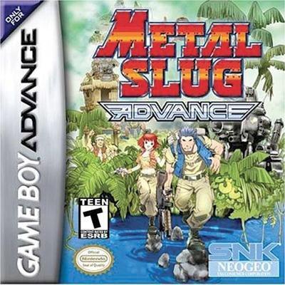 Metal Slug Advance - Juego de acción Gameboy Advance