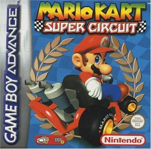 Mario Kart: Super Circuit Sports GBA Game