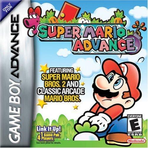 Super Mario Advance - Los mejores juegos de plataforma GBA