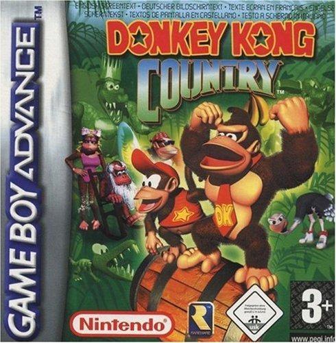 Donkey Kong Country - Juegos de aventura de GBA