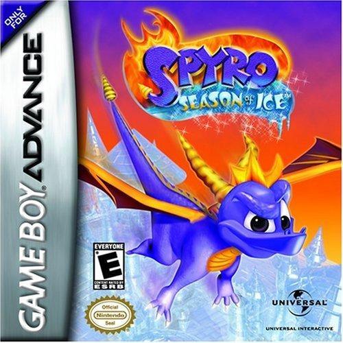 Spyro: Season of Ice - Juego GBA de plataforma llena de acción