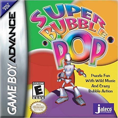 Super Bubble Pop - Juego GBA de rompecabezas basado en burbujas