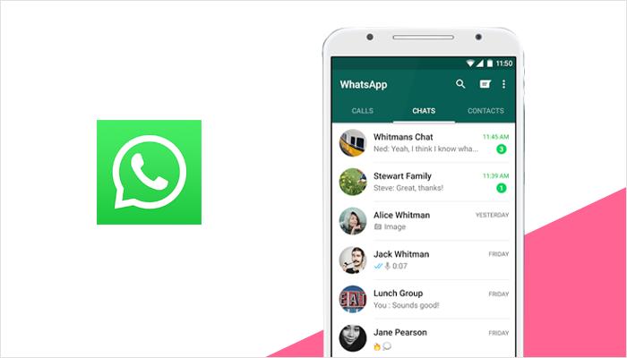 Aplicación de mensajería de WhatsApp