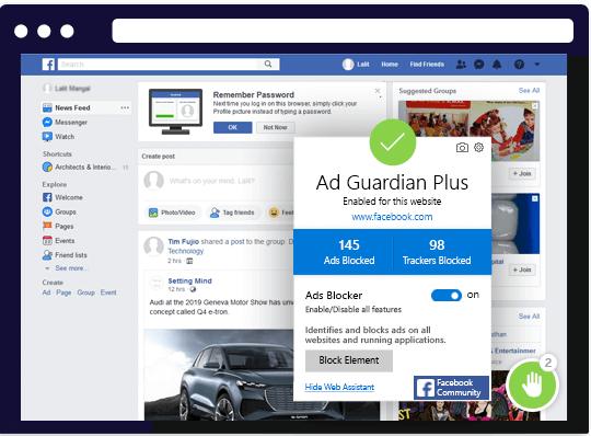 """Ad-Guardian Plus - Eliminador de adware """"width ="""" 405 """"height ="""" 299"""