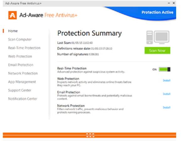 Ad-Aware Free Antivirus +