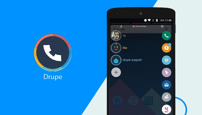 Drupe - Las mejores aplicaciones de marcador