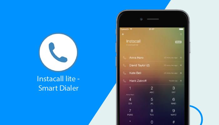 Instacall lite - Smart Dialer - Las mejores aplicaciones de marcador