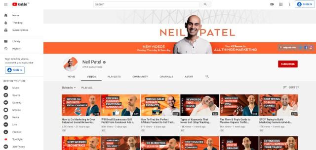 10. Aprende marketing digital en YouTube