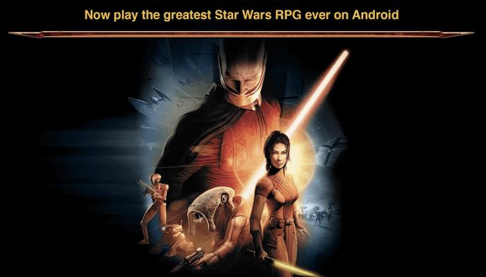 Star Wars: KOTOR - Juego de rol