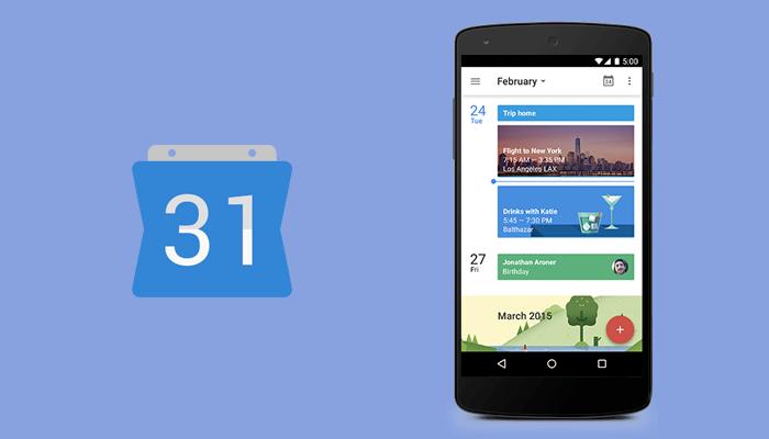 Calendario de Google: aplicación para hackear la vida
