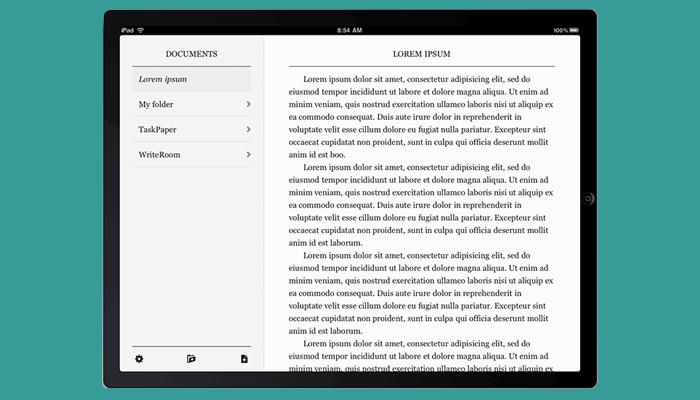Texto sin formato - Aplicación de escritura de ensayos