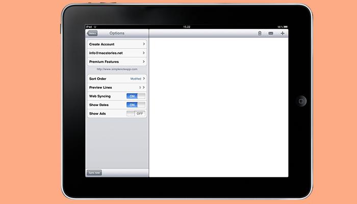 Simplenote - Aplicación de escritura de ensayos
