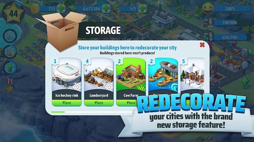 Isla de la ciudad 5 - Tycoon Building Simulation Offline