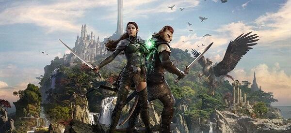 """Elder Scrolls Juegos en línea como World of Warcraft """"ancho ="""" 600 """"altura ="""" 275 """"tamaños ="""" (ancho máximo: 600 px) 100vw, 600 px"""
