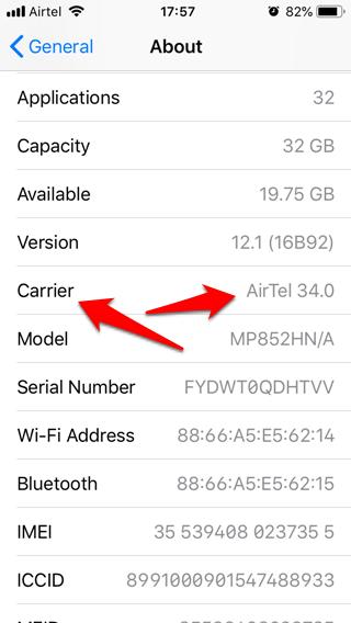 iPhone no envía mensajes de texto 10