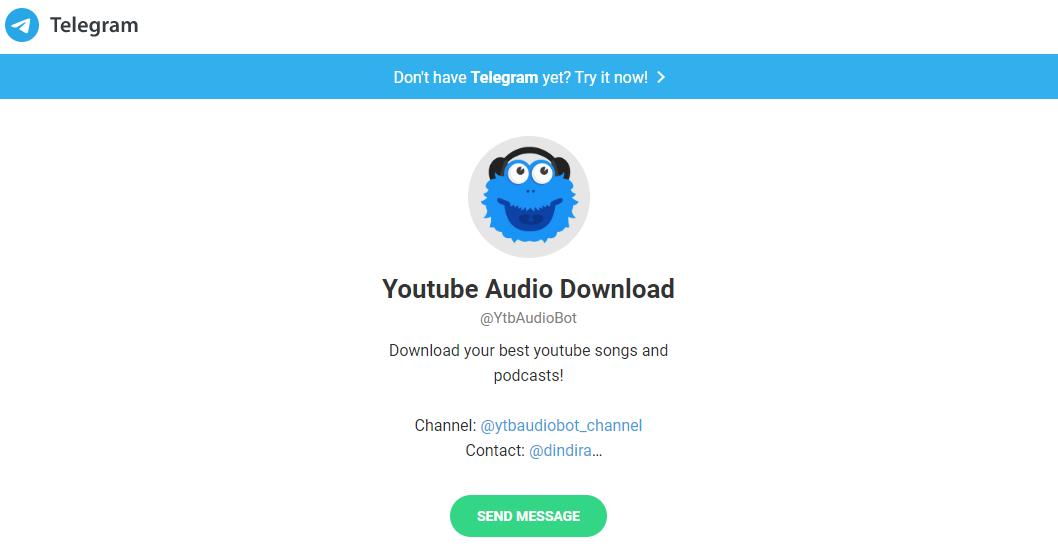 Bot âm thanh Youtube