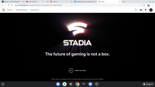 google stadia Qué es un Chromebook Todo lo que necesita saber 10