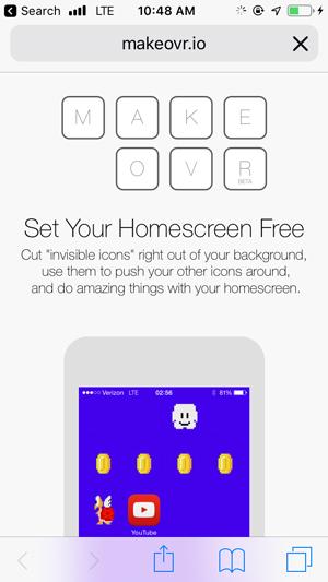 personalizar la pantalla de inicio en iPhone-