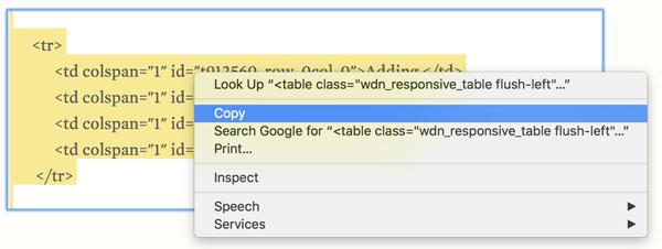 Ako vytvoriť tabuľku v WordPress bez doplnku 5
