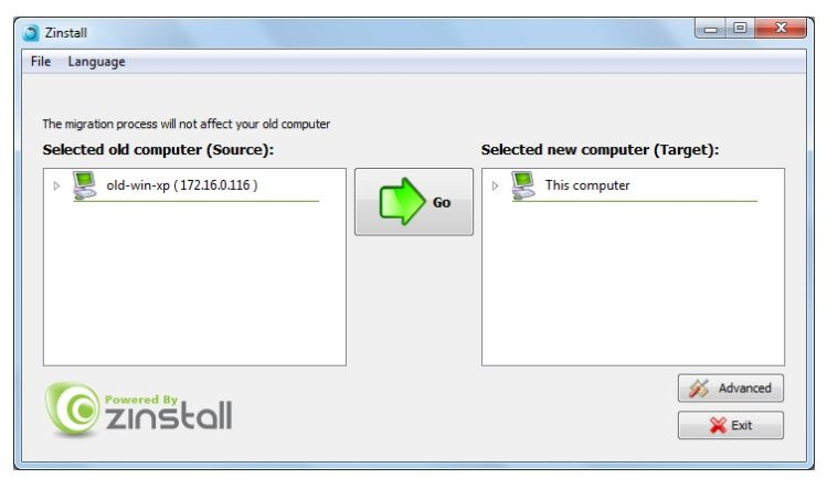 PC vieja Nueva sincronización de PC