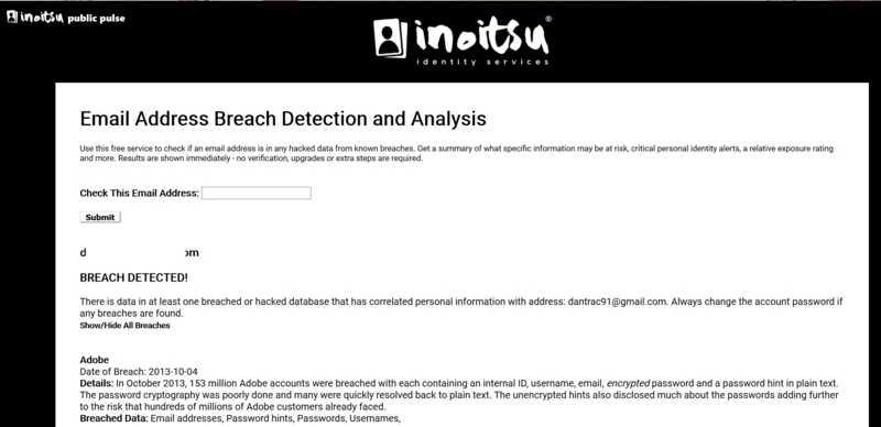 Мониторинг нарушений электронной почты Inoitsu Обнаружение нарушений