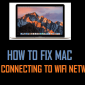 Cómo arreglar Mac que no se conecta a la red WiFi
