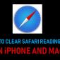 Cómo borrar la lista de lectura de Safari en iPhone y Mac