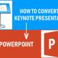 Cómo convertir la presentación de Keynote a PowerPoint