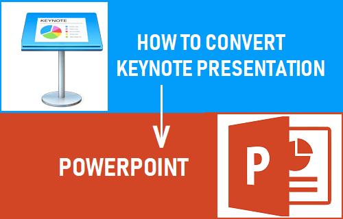 Convertir presentación de Keynote a PowerPoint