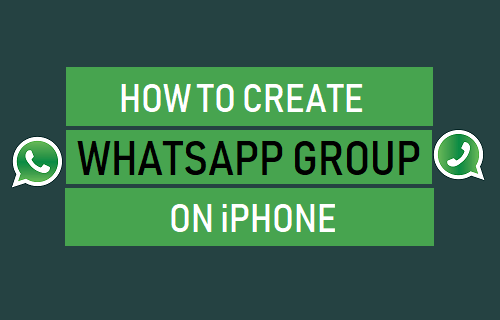 Crear grupo de WhatsApp en iPhone