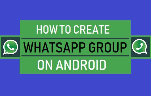 Crear grupo de WhatsApp en un teléfono Android